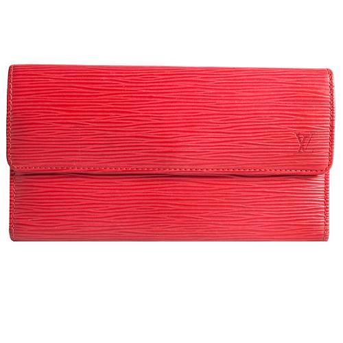 Louis Vuitton Epi Leather Porte Tresor International Wallet