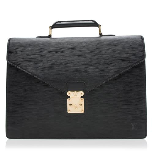 Louis Vuitton Epi Leather Serviette Ambassadeur Briefcase