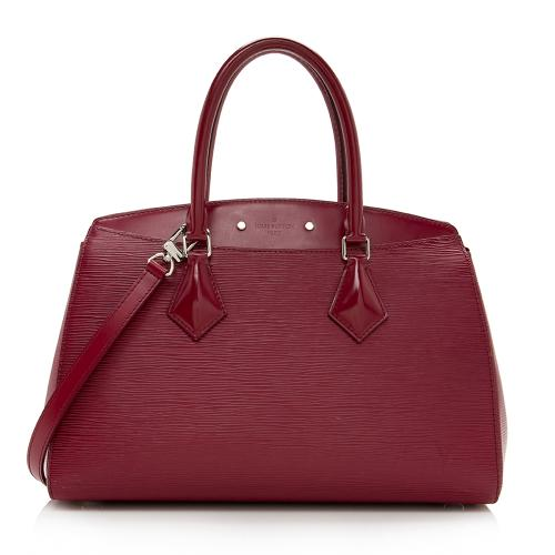 Louis Vuitton Epi Leather Soufflot MM Satchel