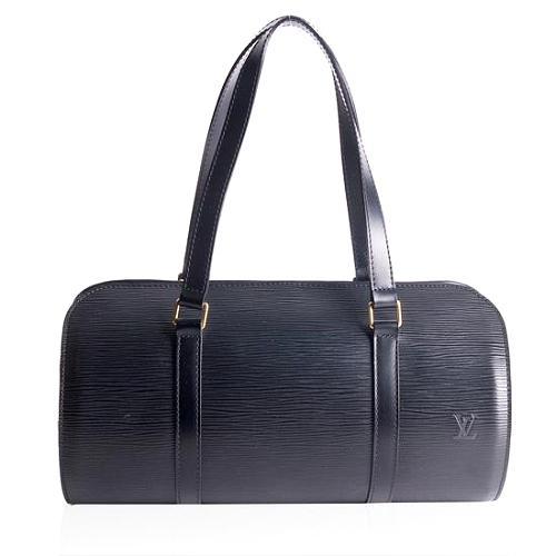 Louis Vuitton Epi Leather Soufflot Satchel Handbag