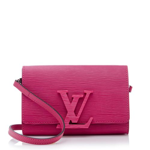 Louis Vuitton Epi Leather Louise Strap PM Shoulder Bag
