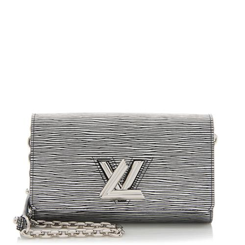 Louis Vuitton Epi Leather Twist Chain Wallet