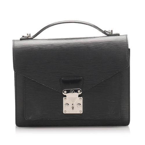 Louis Vuitton Epi Leather Monceau Satchel