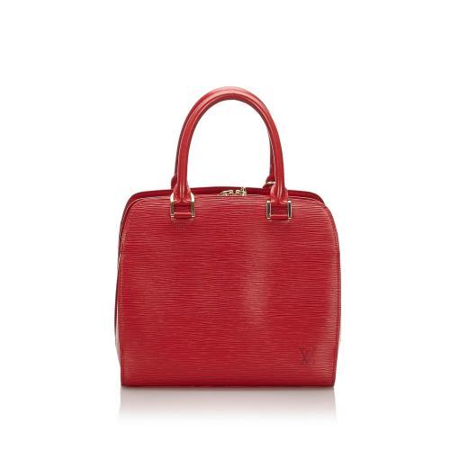 Louis Vuitton Epi Leather Pont Neuf PM Satchel