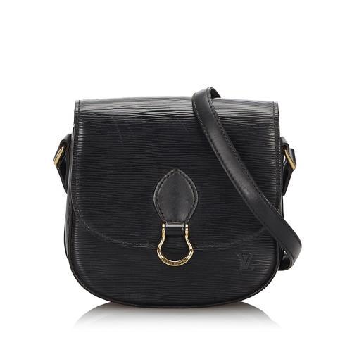 Louis Vuitton Epi Leather Saint Cloud Shoulder Bag