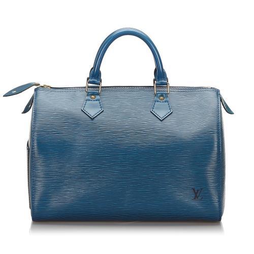Louis Vuitton Epi Speedy 30 Satchel