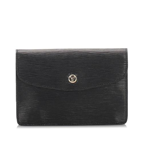 Louis Vuitton Vintage Epi Leather Montaigne Clutch