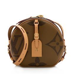 Louis Vuitton Giant Monogram Boite Chapeau Souple Shoulder Bag