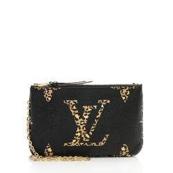 Louis Vuitton Giant Jungle Monogram Double Zip Pochette