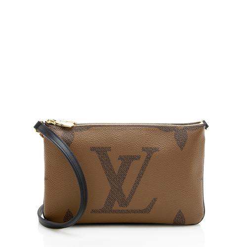 Louis Vuitton Giant Monogram Double Zip Pochette