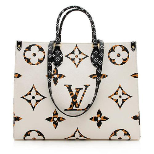 Louis Vuitton Giant Monogram Jungle Onthego GM Tote