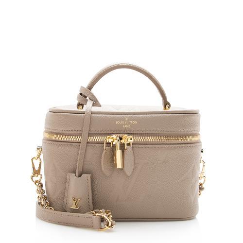 Louis Vuitton Giant Monogram Leather Vanity PM Shoulder Bag