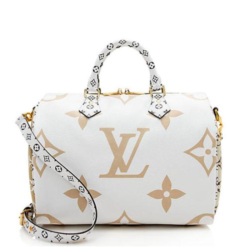 Louis Vuitton Giant Monogram Speedy Bandouliere 30 Satchel