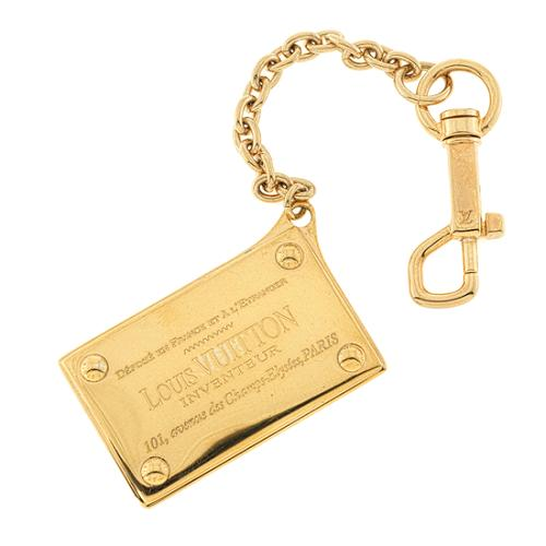 Louis Vuitton Inventeur Key Chain Bag Charm
