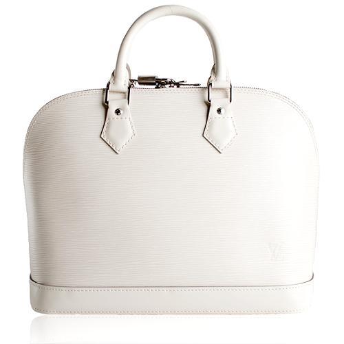 Louis Vuitton Ivoire Epi Leather Alma Satchel Handbag