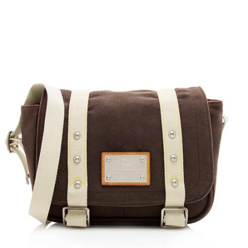 Louis Vuitton Antigua Canvas Besace Messenger Bag