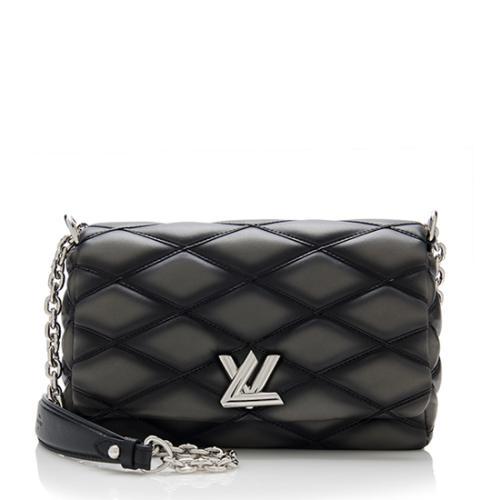 Louis Vuitton Lambskin GO-14 PM Shoulder Bag