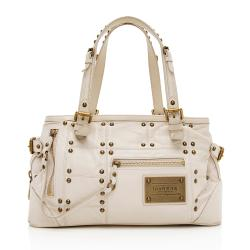 Louis Vuitton Leather Limited Edition Riveting Satchel