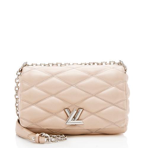 Louis Vuitton Leather Matetage GO-14 PM Shoulder Bag