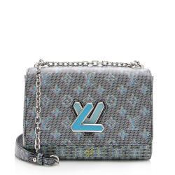 Louis Vuitton Leather Pop Twist MM Shoulder Bag