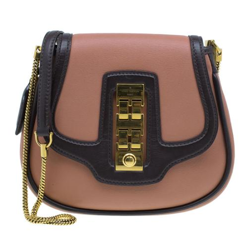 Louis Vuitton Leather Trapezio Art Deco Shoulder Bag