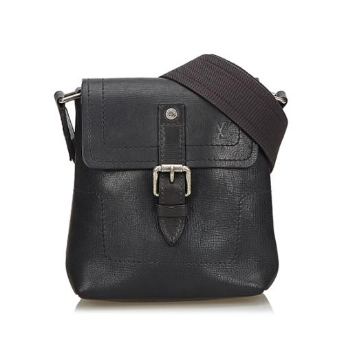 Louis Vuitton Utah Leather Yuma Small Shoulder Bag
