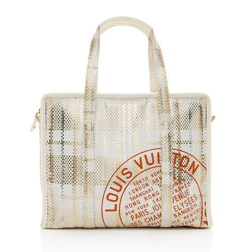 Louis Vuitton Limited Edition Braided Street Shopper PM Tote