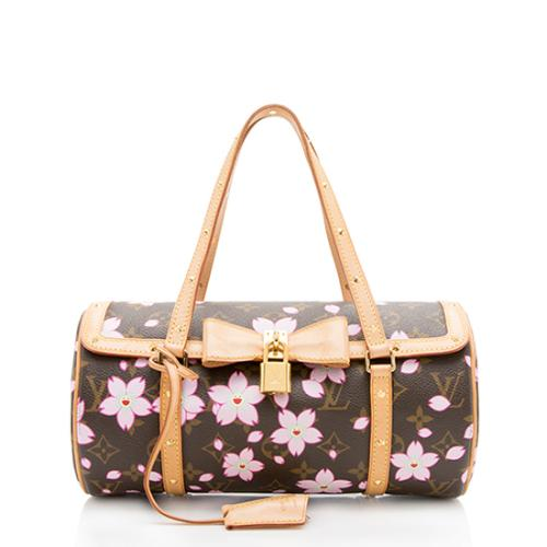 2f95ee0c222e Louis-Vuitton-Limited-Edition-Cherry-Blossom-Papillon -Satchel 99822 front large 0.jpg