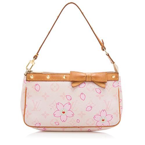 Louis Vuitton Limited Edition Cherry Blossom Pochette Accessoires