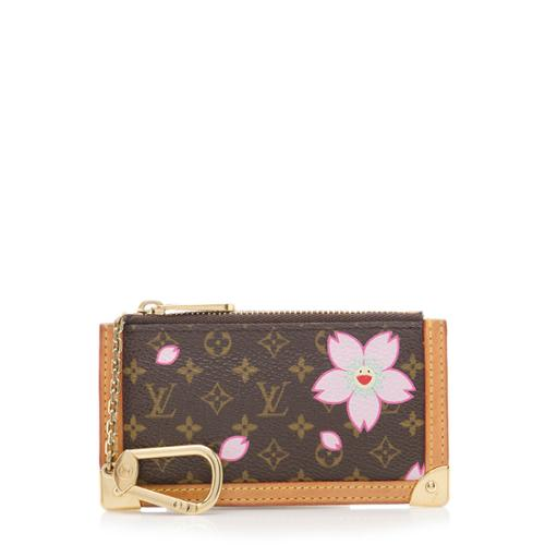 62bb8ed3d047 Louis-Vuitton-Limited-Edition-Cherry-Blossom -Pochette-Cles-Coin-Pouch 70411 front large 0.jpg