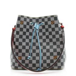 Louis Vuitton Limited Edition Damier Canvas Neonoe Shoulder Bag