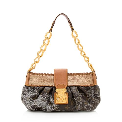 Louis Vuitton Limited Edition Dentelle Kirsten Shoulder Bag