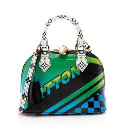 Louis Vuitton Limited Edition Epi Leather Race Alma BB Satchel
