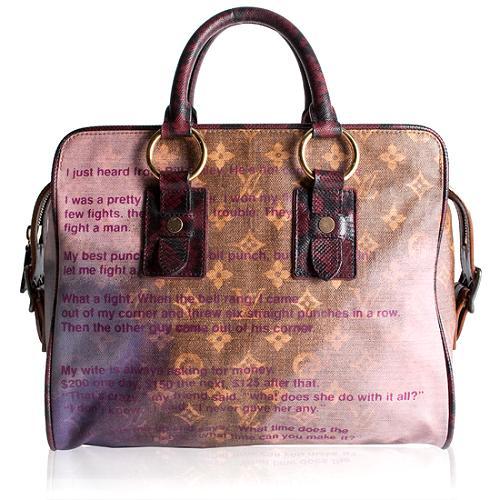 Louis Vuitton Limited Edition Graduate Monogram Jokes Satchel Handbag