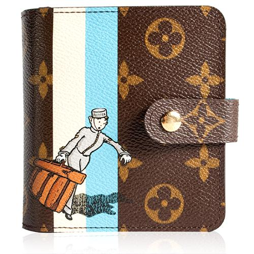 Louis Vuitton Limited Edition Groom Compact Zip Wallet