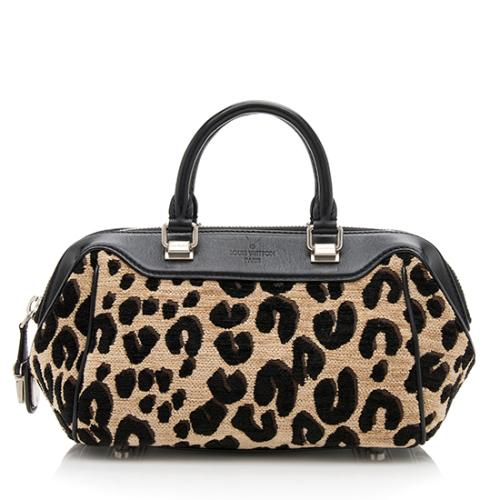 Louis Vuitton Limited Edition Leopard Baby Bag Satchel
