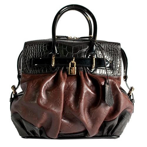 Louis Vuitton Limited Edition Les Extraordinaires Alligator City Steam Tote