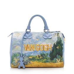 Louis Vuitton Limited Edition Masters Van Gogh Speedy 30 Satchel