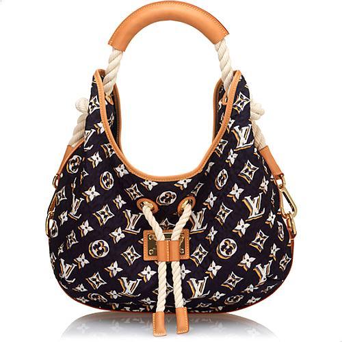 Louis Vuitton Limited Edition Monogram Bulles MM Handbag