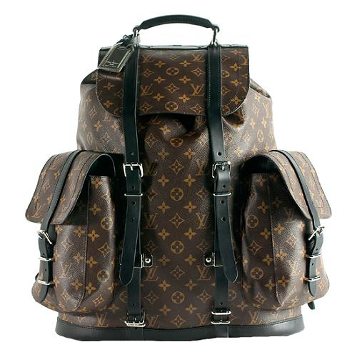 Louis Vuitton Limited Edition Monogram Canvas Christopher Backpack