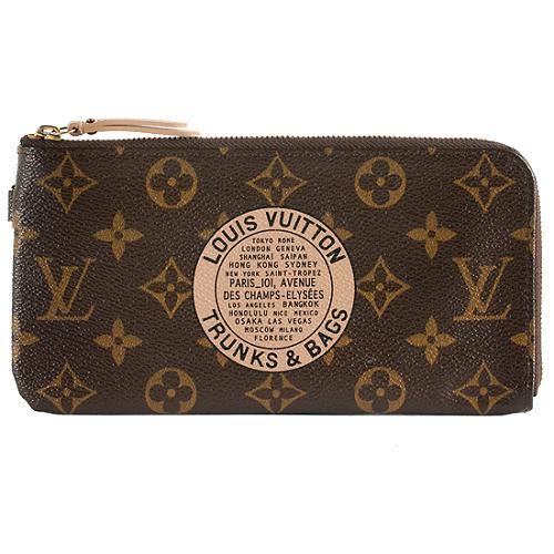 7a779e376f3 Louis Vuitton Limited Edition Monogram Canvas Complice Trunks & Bags Wallet