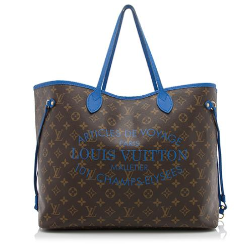 5705e2d2c996 Louis-Vuitton-Limited-Edition-Monogram-Canvas-Ikat-Neverfull-GM -Tote 88667 front large 0.jpg