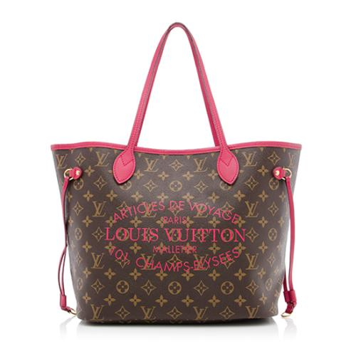 Louis Vuitton Limited Edition Monogram Canvas Ikat Neverfull MM Tote