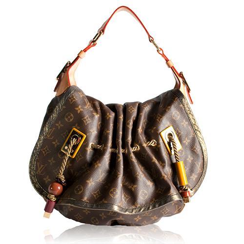 Louis Vuitton Limited Edition Monogram Canvas Kalahari GM Handbag