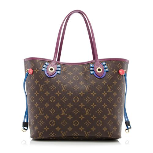 Louis Vuitton Limited Edition Monogram Canvas Neverfull MM Tote