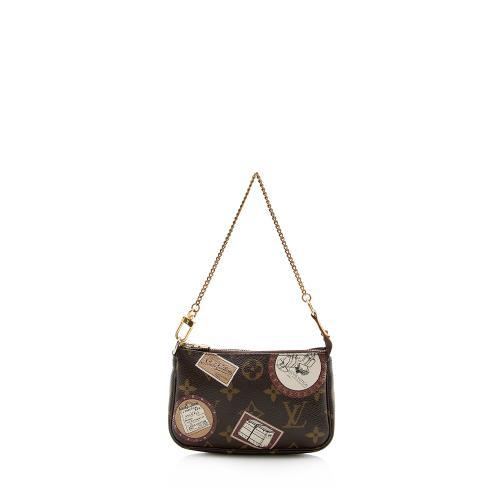 Louis Vuitton Limited Edition Monogram Canvas Trunks & Bags Mini Pochette Access
