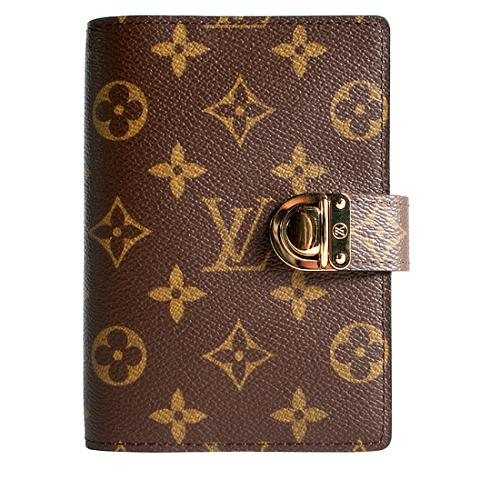 Louis Vuitton Limited Edition Monogram Canvas Rose Koala Small Ring Agenda Cover