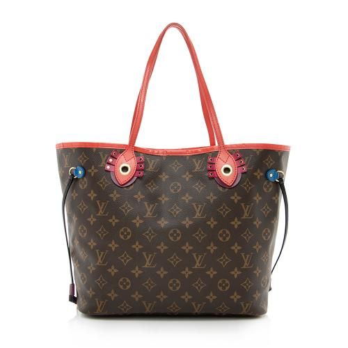 Louis Vuitton Limited Edition Monogram Canvas Totem Neverfull MM Tote