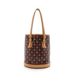 Louis Vuitton Limited Edition Monogram Cerises Bucket Tote