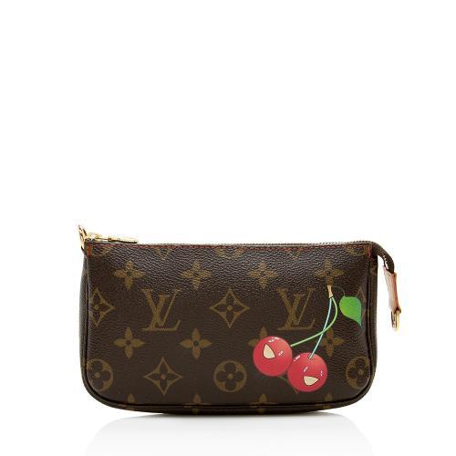 Louis Vuitton Limited Edition Monogram Cerises Mini Pochette Accessories
